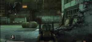 Use the Helghast StA-11 SMG in Killzone 2