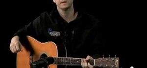 """Play """"The Joker"""" by Steve Miller on acoustic guitar"""