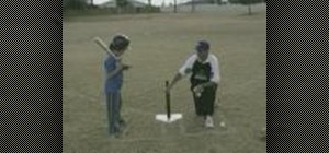Practice the String Drill for tee ball