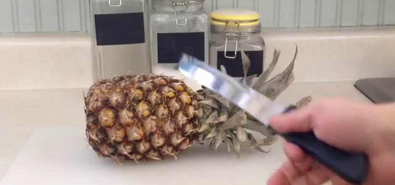 Cut a Pineapple - Quick and Easy Way
