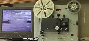Transfer 8mm film using a vintage Tobin TVT-8 Telecine