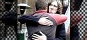 Give a man to man hug