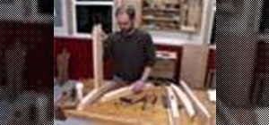 Make a drawbored mortise and tenon joint