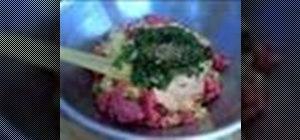 Cook Italian meatballs