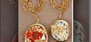 Make a charming locket