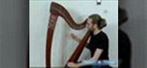 Play the harp