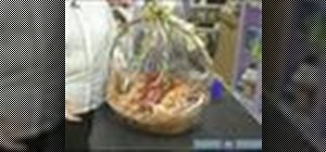 Make elegant gift baskets