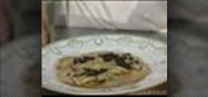 Make ravioli with cepe mushrooms