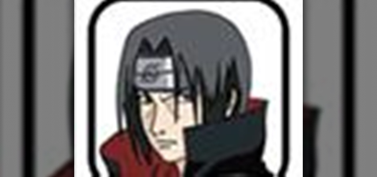 How To Draw Itachi From Naruto In 12 Steps Drawing Illustration