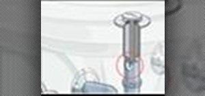 Install a vandal-resistant drain plug