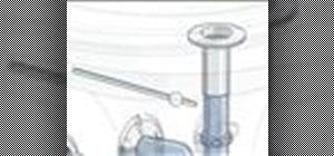 Install a drain plug