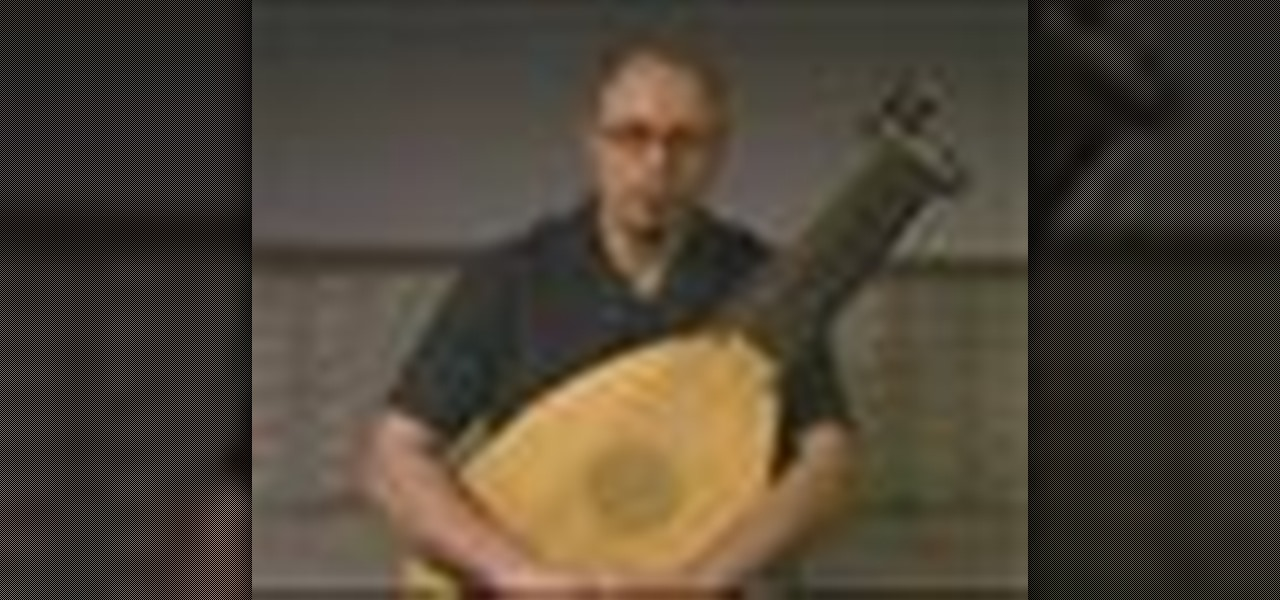 how to play the lute