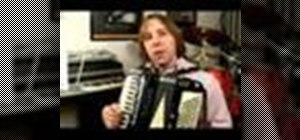 Play the accordion in G major