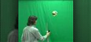 Make a ball float in the air
