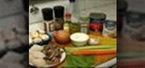 Make shrimp and scallop seafood pasta