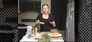 Make a chicken ciabatta sandwich