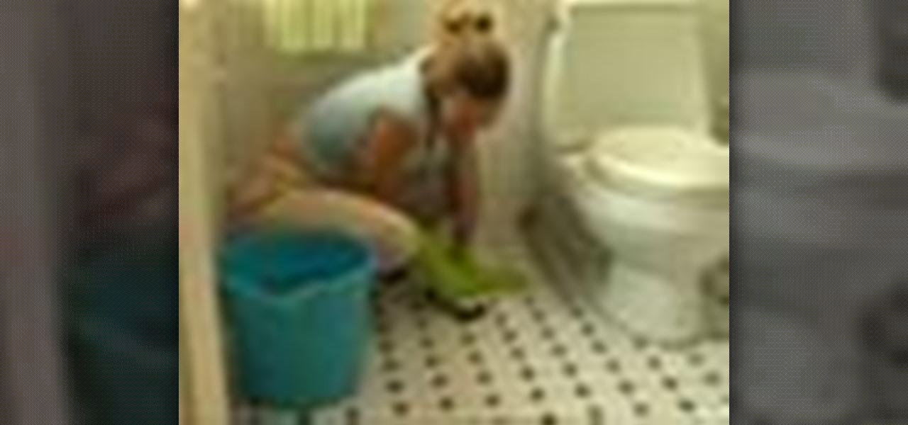 How To Clean A Ceramic Tile Floor Housekeeping Wonderhowto