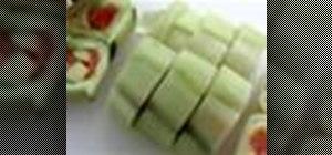 Make Kappa Maki sushi