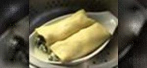 Make scallop cannelloni