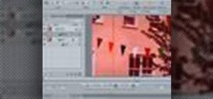 Create a TV screen effect inside Apple Motion
