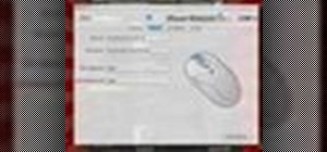 Customize the mouse in OS X