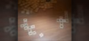 Play Scrabble fast, when your short-tempered with kids
