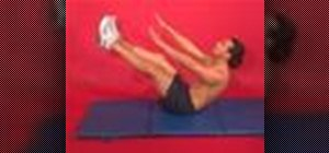 Exercise with the V sit