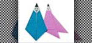 Origami a Hikoboshi and Orihime Japanese style