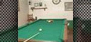 Set up basic strokes in billiards