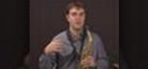 Perform advanced saxophone exercises
