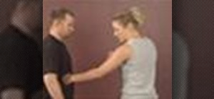 Practice women's self defense strikes