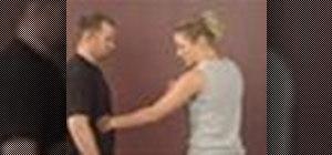 Practice women's self defense strikes