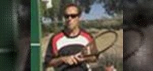 Play beginner tennis