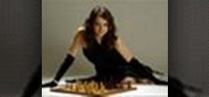 Solve a miniature chess problem