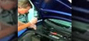 Replace an air cabin filter in your vehicle