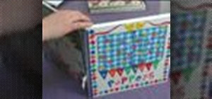 Make a table top puppet theater