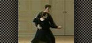 Dance a mid-nineteenth-century Varsovienne/varsoviana