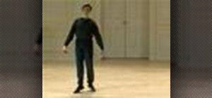 Do a Baroque pas de menuet de deux mouvements dance
