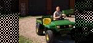 Use a John Deere Gator Traditional Utility Vehicle