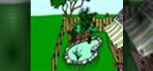 Install a garden pond