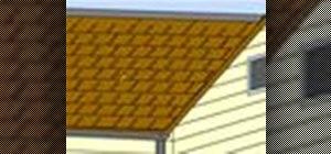 Replace damaged asphalt shingles