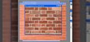 Create seamless bricks with imageSynth for Photoshop