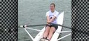 Steer when rowing