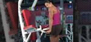 Exercise with advance triceps dips