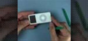 Install a high capacity battery in an iPod Nano