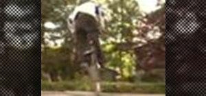 Ride freestyle BMX