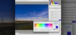 Use Photoshop CS4 graduated filter tool