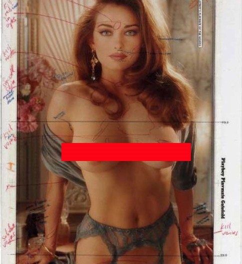 What Did Playboy Do Before the Days of Photoshop? (Slightly NSFW)
