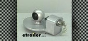 Use the master lock 2 5/16 Inch trailer coupler lock
