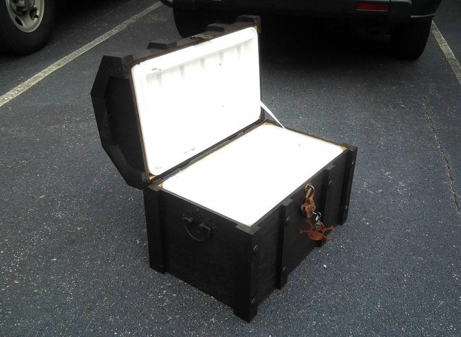How to Turn an Ordinary Cooler into a Beer-Chilling Pirate Chest